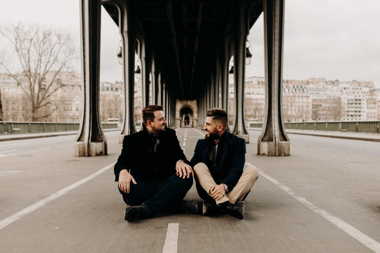 Séance photo en couple à Paris